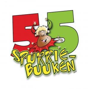 Spurriebuuken - Logo jubileum
