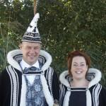 Het prinsenpaar van carnavalsvereniging de Spurriebuuken uit Oploo in het carnavalsseizoen 2016-2017 is Prins Gilbert dun Urste en Prinses Marijke